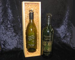 Etched Bottles & Boxes